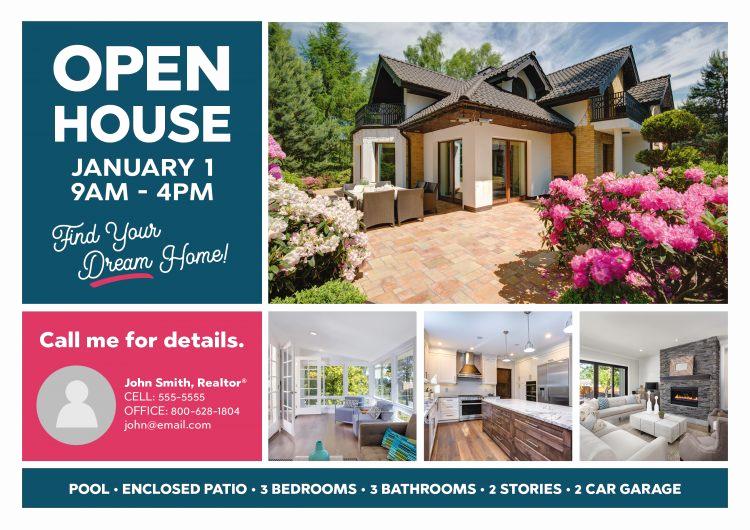 Real Estate Open House Invitation Elegant 6 Gorgeous Real Estate Open House Invitation Postcard
