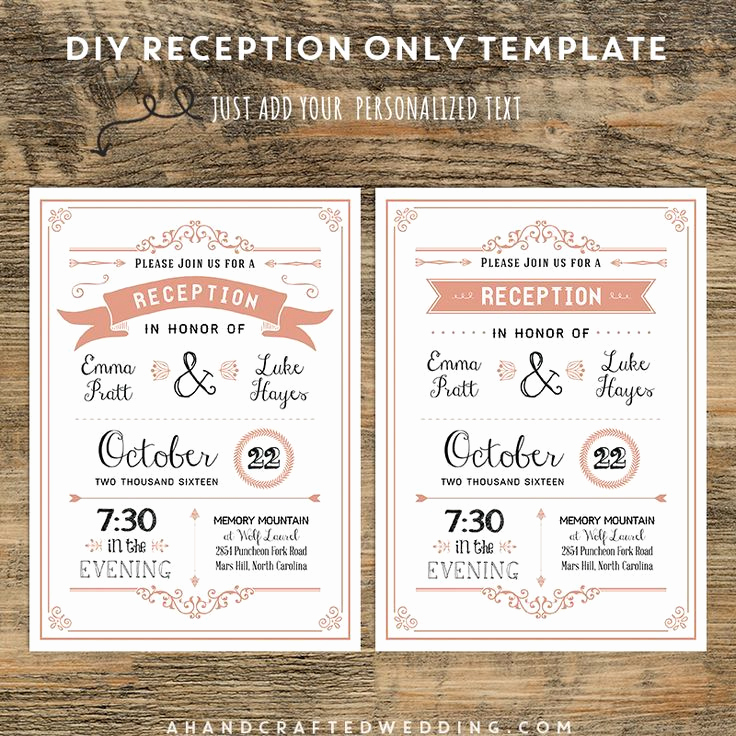 Reception Only Invitation Wording Lovely 17 Best Ideas About Reception Ly Invitations On