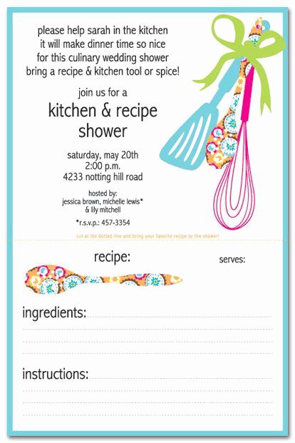 Recipe Shower Invitation Wording Fresh 17 Best Images About Invites On Pinterest