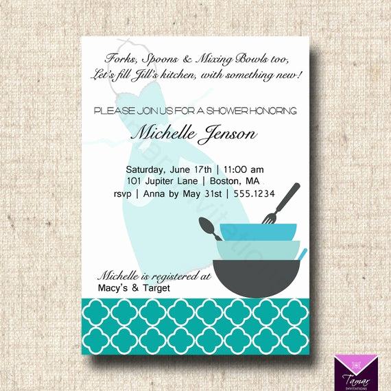 Recipe Shower Invitation Wording Luxury Items Similar to Printable Bridal Shower Invitation and
