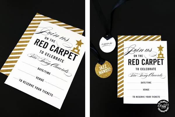 Red Carpet Invitation Template Best Of Red Carpet Party Printables
