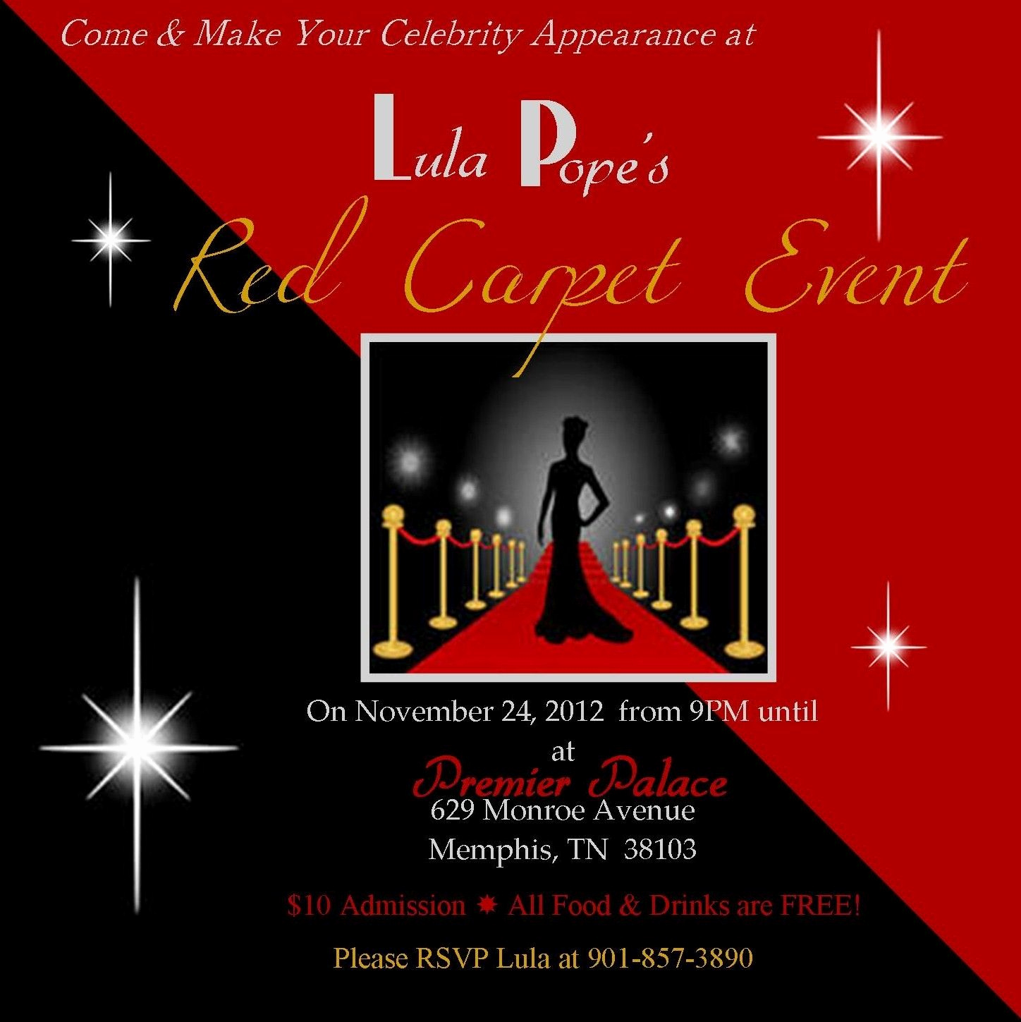 Red Carpet Invitation Template Free Fresh Red Carpet Party Invitations Sweet 16