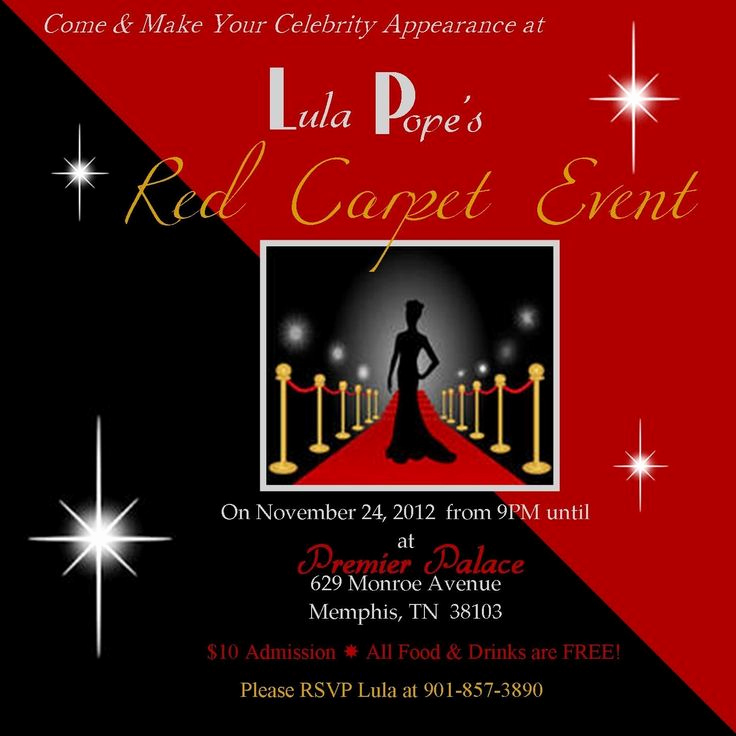 Red Carpet Invitation Template Fresh Red Carpet Party Invitations Daddy Daughter Dance