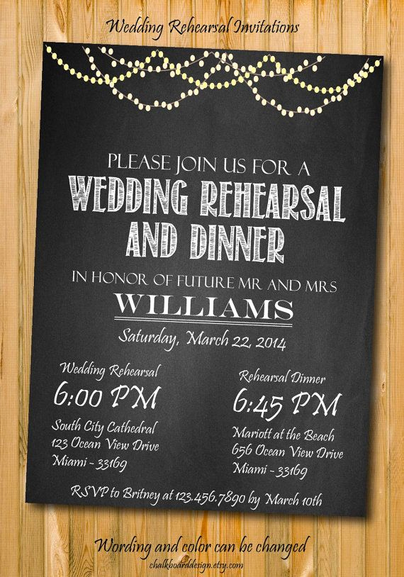 Rehearsal Dinner Invitation Ideas Awesome 1000 Ideas About Wedding Rehearsal On Pinterest