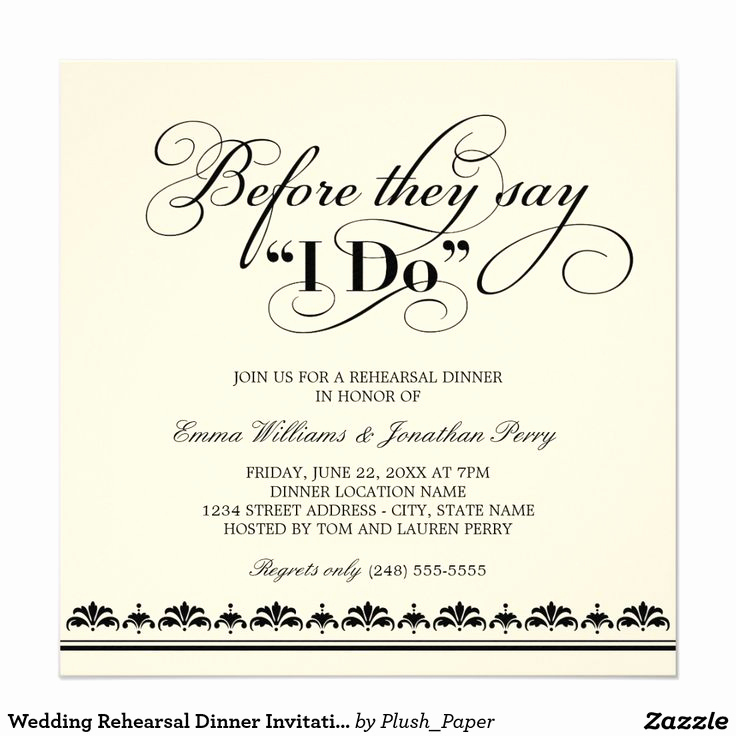 Rehearsal Dinner Invitation Ideas Lovely Best 25 Rehearsal Dinner Invitations Ideas On Pinterest