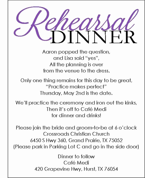 Rehearsal Dinner Invitation Template Awesome 25 Best Ideas About Wedding Rehearsal Invitations On