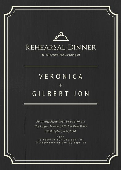 Rehearsal Dinner Invitation Template Lovely Customize 411 Rehearsal Dinner Invitation Templates