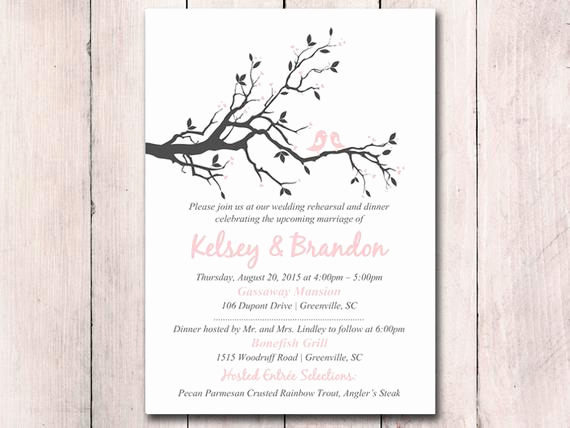Rehearsal Dinner Invitation Template Luxury Rehearsal Dinner Invitation Template Printable Wedding