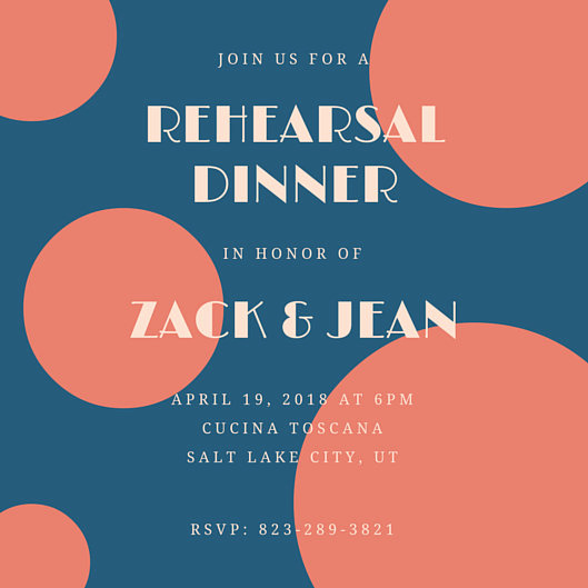Rehearsal Dinner Invitation Template New Rehearsal Dinner Invitation Templates Canva
