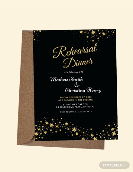 Rehearsal Dinner Invitation Template Unique Free Rehearsal Dinner Party Invitation Template Download
