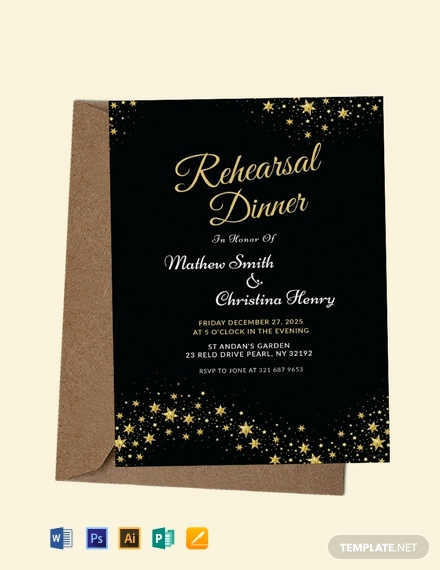 Rehearsal Dinner Invitation Template Word Beautiful 25 Free Dinner Invitation Templates [download Ready Made