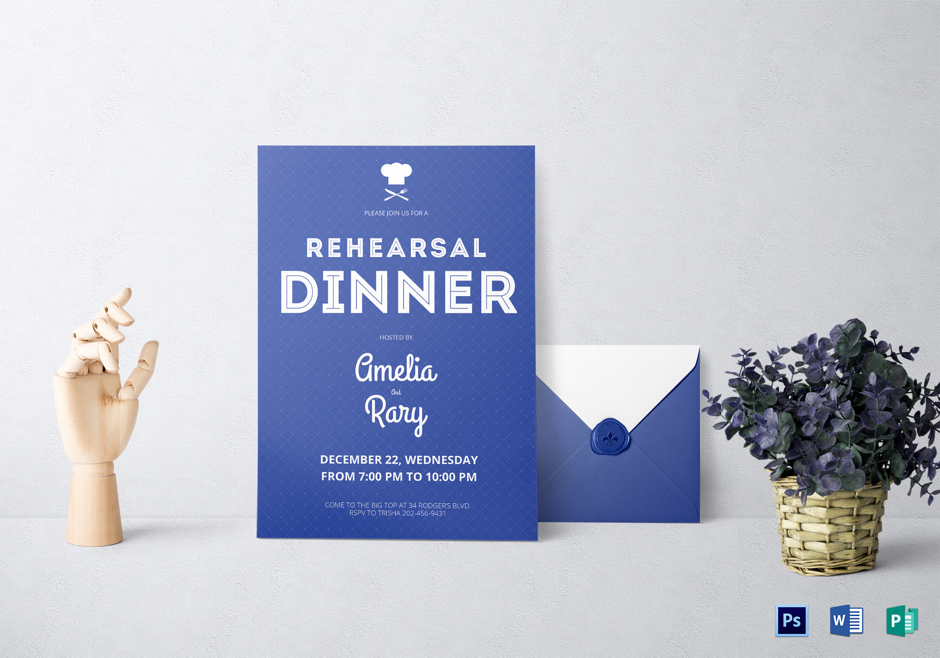 Rehearsal Dinner Invitation Template Word Lovely Rehearsal Dinner Invitation Design Template In Word Psd