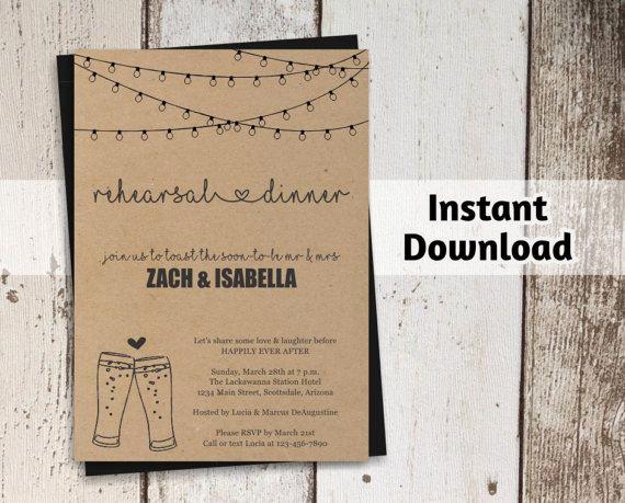 Rehearsal Dinner Invitation Template Word Luxury Best 25 Rehearsal Dinner toasts Ideas On Pinterest