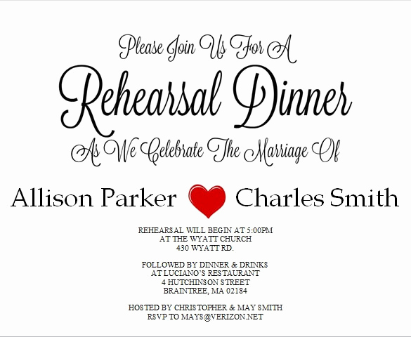 Rehearsal Dinner Invitation Template Word New 49 Dinner Invitation Templates Psd Ai Word