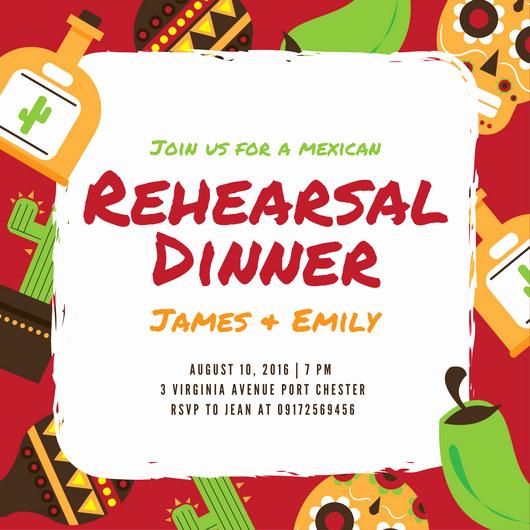 Rehearsal Dinner Invitation Template Word Unique Customize 380 Rehearsal Dinner Invitation Templates