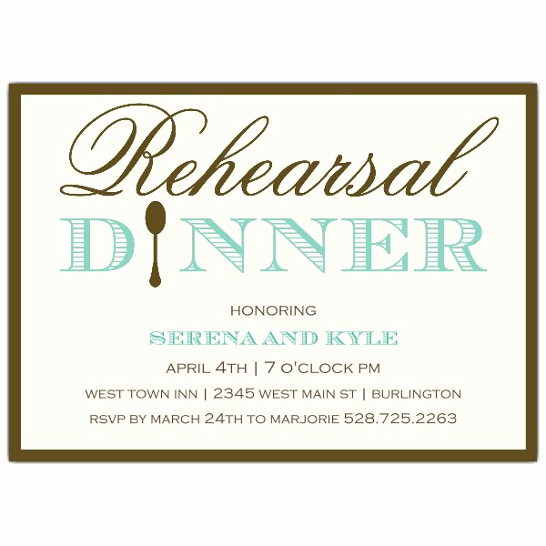 Rehearsal Dinner Invitation Wording Beautiful Simple Elegance Rehearsal Dinner Invitations