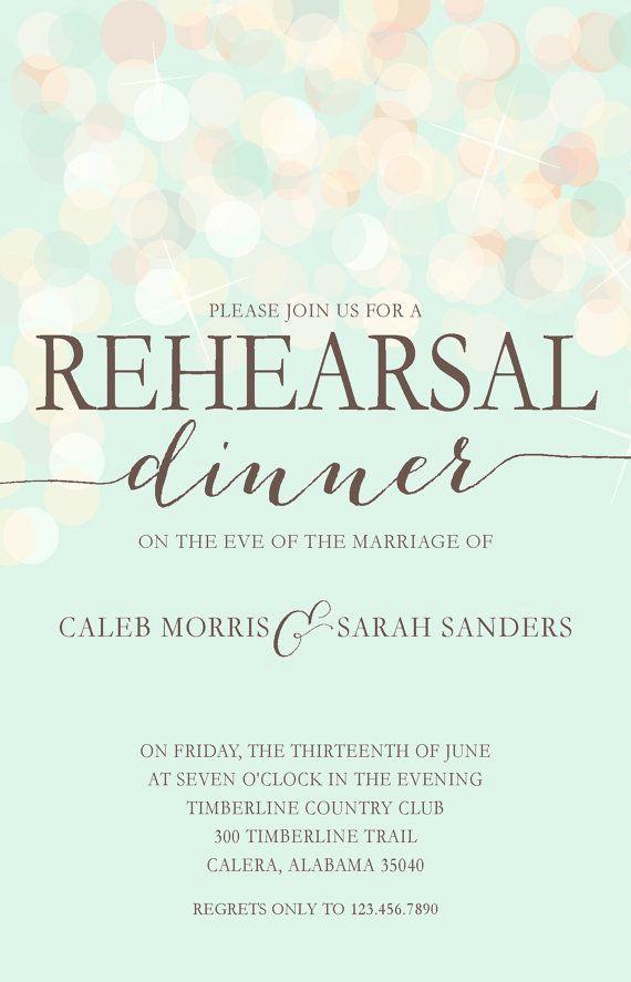 Rehearsal Dinner Invitation Wording Best Of 25 Cute Rehearsal Dinners Ideas On Pinterest