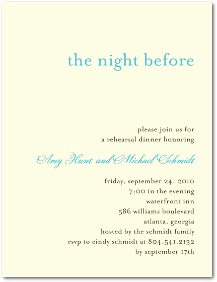 Rehearsal Dinner Invitation Wording Lovely Rehearsal Dinner Invitation Wording Ftb forthebride