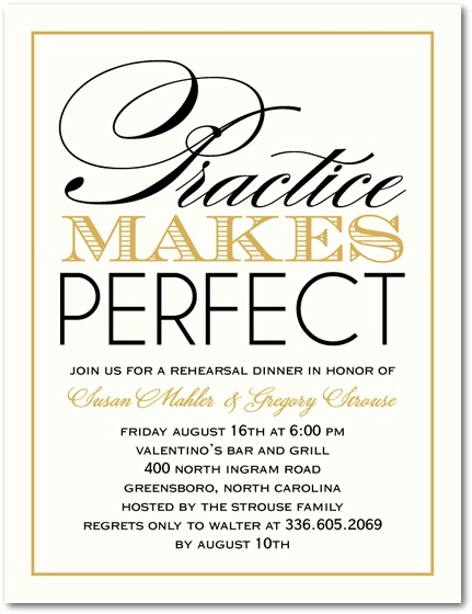 Rehearsal Dinner Invitation Wording Lovely Rehearsal Dinner Invitations