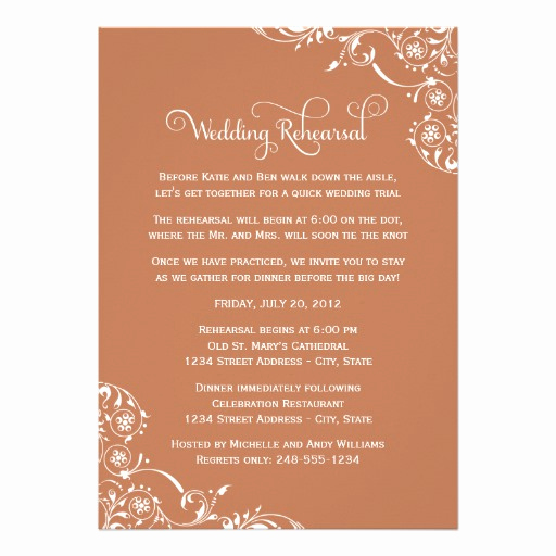 Rehearsal Dinner Invitation Wording New Wedding Rehearsal and Dinner Invitations