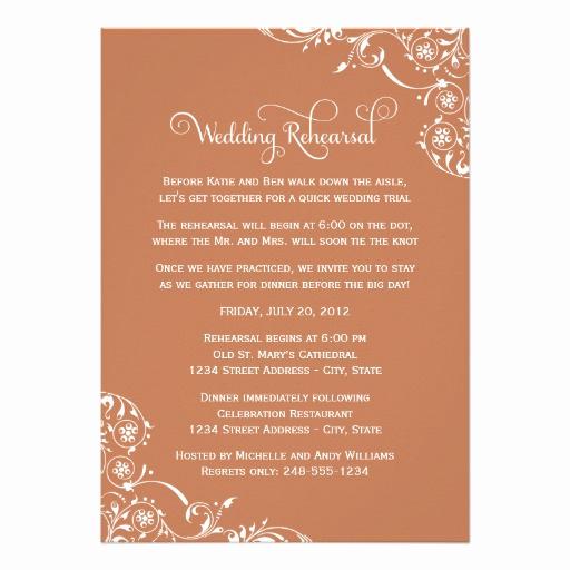 Rehearsal Dinner Invitation Wording New Wedding Rehearsal and Dinner Invitations