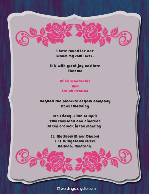 Religious Wedding Invitation Wording Best Of Christian Wedding Invitation Wording Samples Wordings