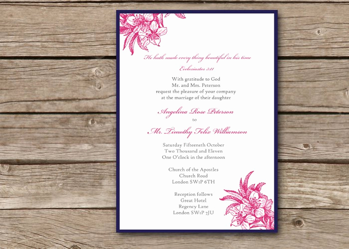 Religious Wedding Invitation Wording Elegant Christian Wedding Invitation Wording