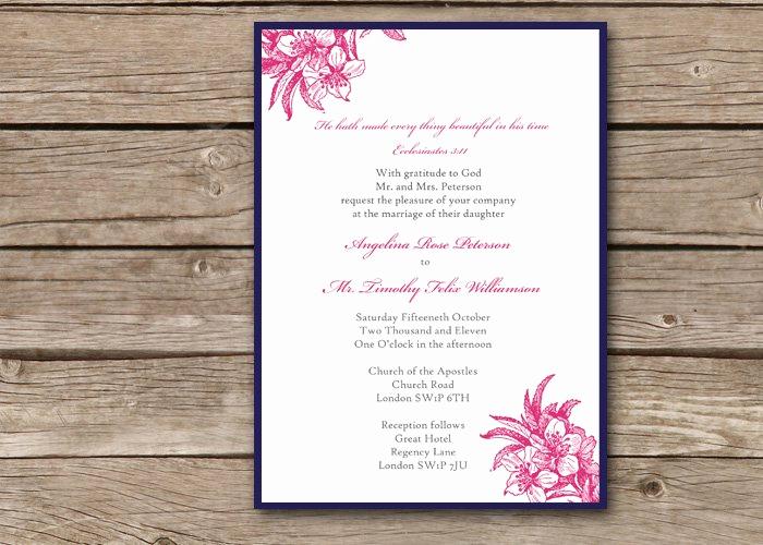 Religious Wedding Invitation Wording Elegant Christian Wedding Invitation Wording