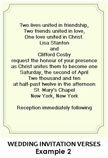 Religious Wedding Invitation Wording Inspirational Christian Wedding Invitation Wording
