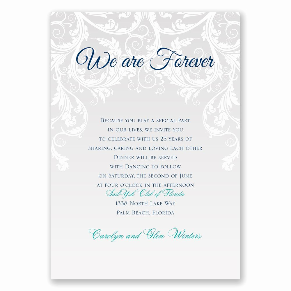 Renew Vows Invitation Wording Beautiful We are forever Vow Renewal Invitation