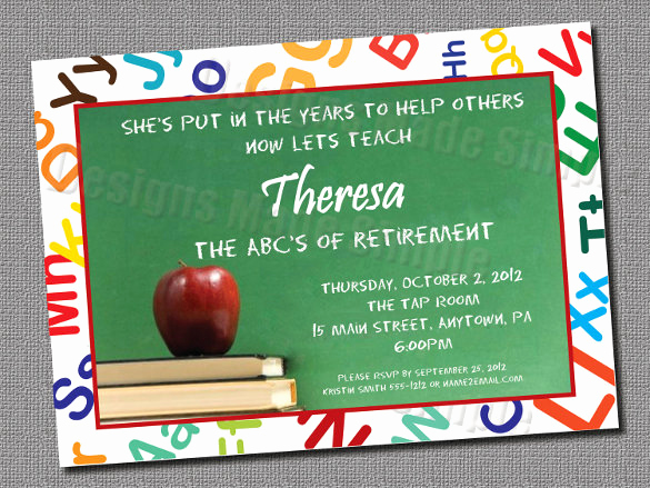 Retirement Invitation Template Free Awesome 25 Retirement Invitation Templates Psd Vector Eps Ai
