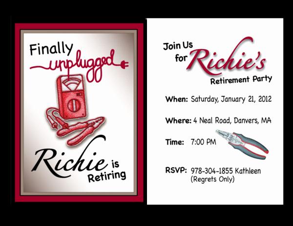Retirement Invitation Template Free Beautiful 36 Retirement Party Invitation Templates Psd Ai Word