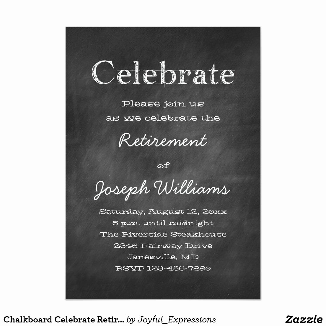 Retirement Invitation Template Free Elegant Invitation to A Retirement Party