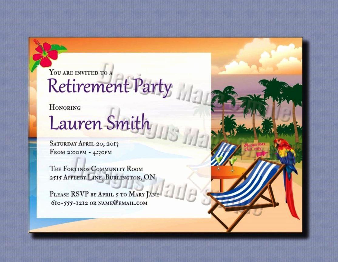 Retirement Invitation Template Free Lovely Free Printable Retirement Party Invitation Templates