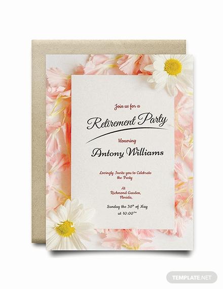 Retirement Invitation Template Free Luxury Free Garden Party Invitation Template Download 344