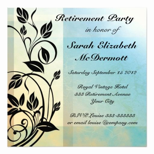 Retirement Party Invitation Card New 40 Best Retirement Party Invites Images On Pinterest