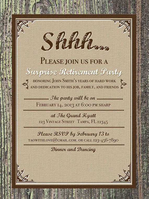 Retirement Party Invitation Card New 41 Best Retirement Invites Images On Pinterest