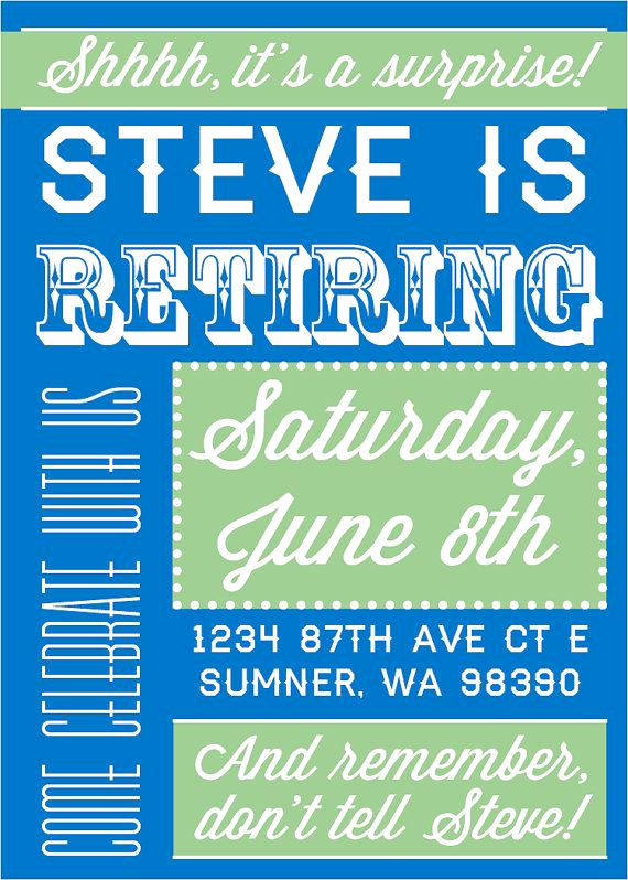 Retirement Party Invitation Ideas Awesome Best 25 Retirement Parties Ideas On Pinterest