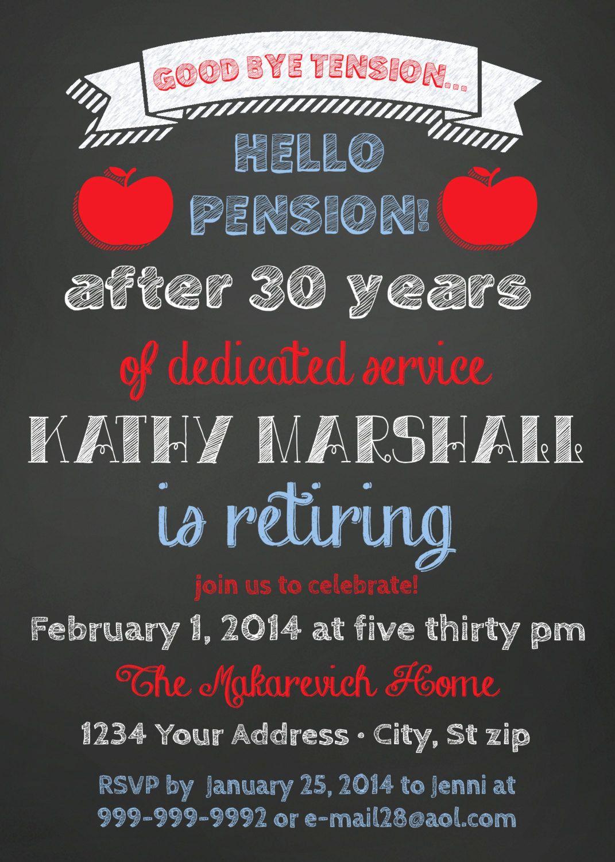 Retirement Party Invitation Ideas Beautiful Retirement Party Invitation Teacher
