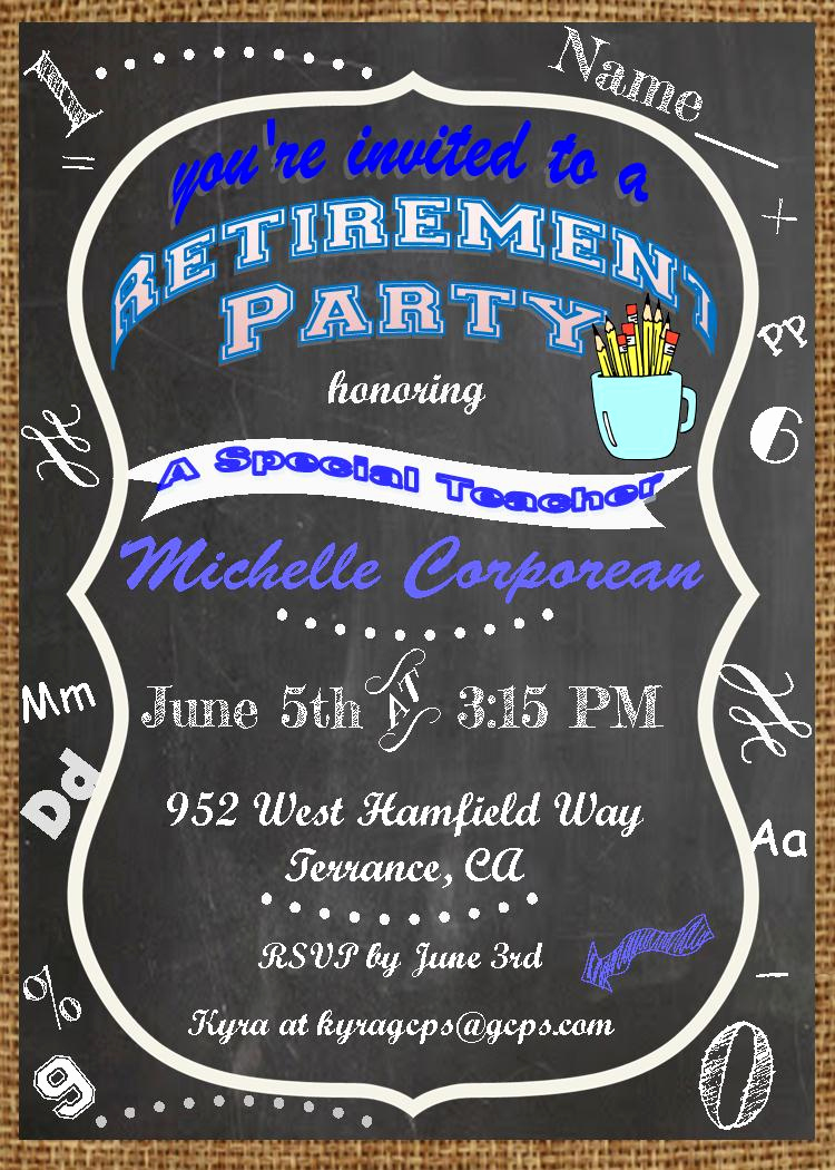 Retirement Party Invitation Ideas Best Of Retirement Party Invitations Custom Designed New for