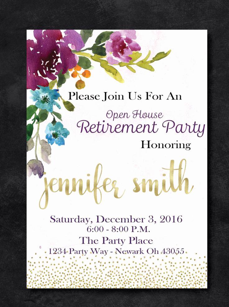 Retirement Party Invitation Ideas Fresh 1000 Ideas About Retirement Invitations On Pinterest