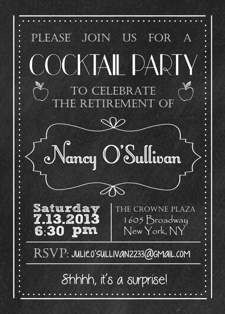 Retirement Party Invitation Ideas Lovely 11 Best Images About Retirement Invitation On Pinterest