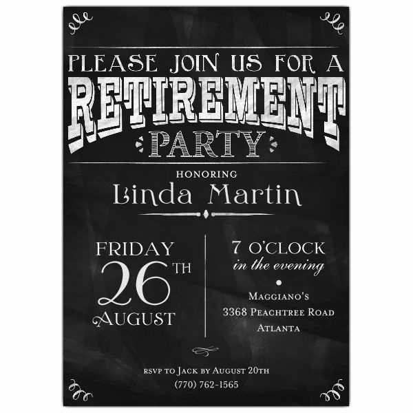 Retirement Party Invitation Ideas Lovely Best 25 Retirement Invitations Ideas On Pinterest