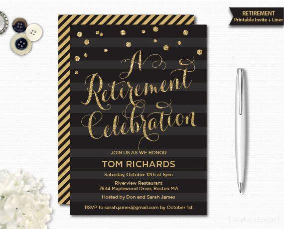 Retirement Party Invitation Ideas Luxury 17 Best Ideas About Retirement Party Invitations On