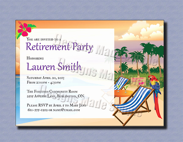 Retirement Party Invitation Template Free Lovely 36 Retirement Party Invitation Templates Psd Ai Word