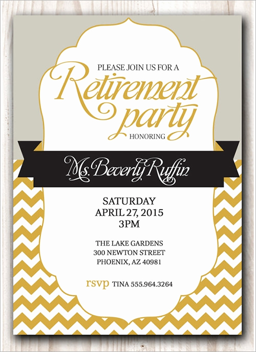 Retirement Party Invitation Template Inspirational 54 Invitation Templates Word Psd Ai