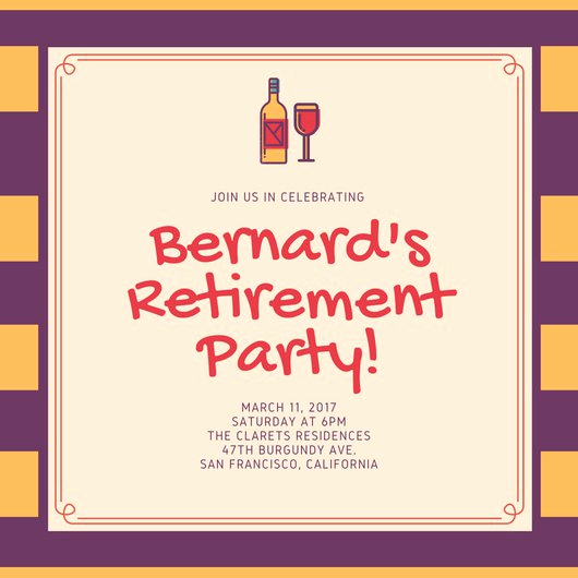 Retirement Party Invitation Templates Beautiful Customize 3 999 Retirement Party Invitation Templates