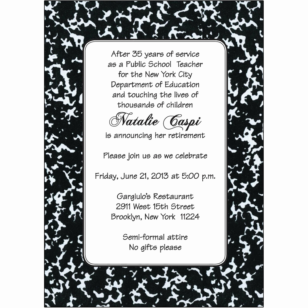 Retirement Party Invitation Templates Fresh 25 Personalized Retirement Party Invitations Rpit 18