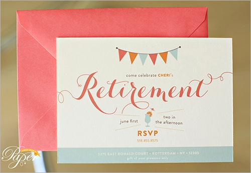 Retirement Party Invitation Templates Fresh Sample Invitation Template Download Premium and Free