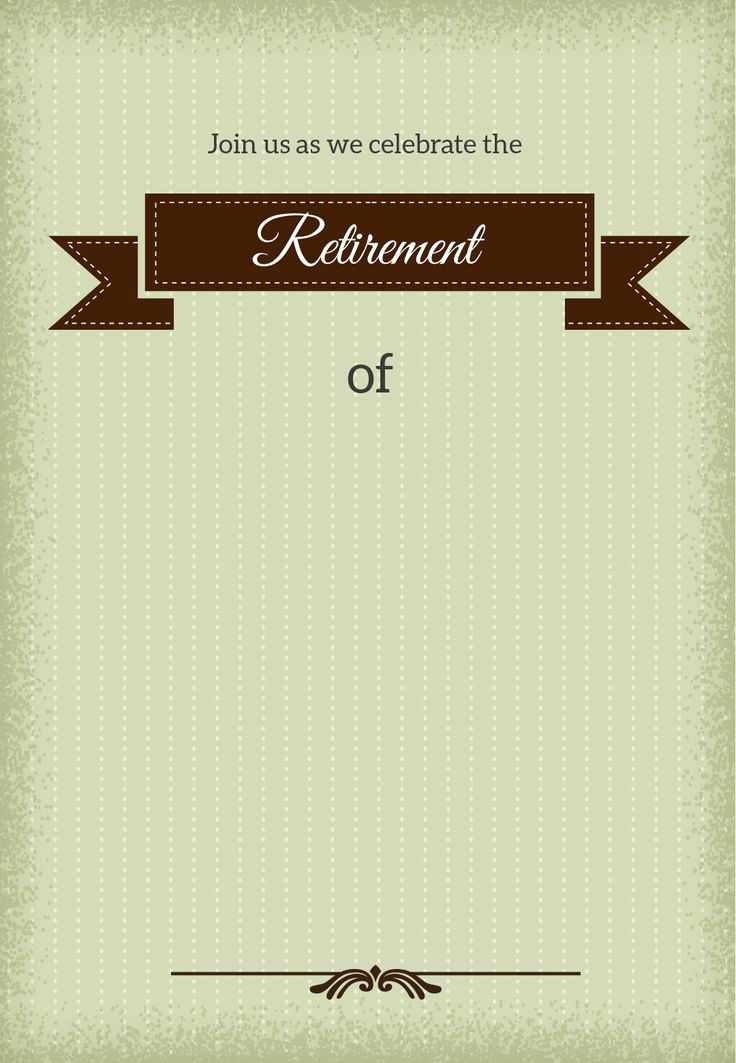 Retirement Party Invitation Templates Inspirational 25 Unique Retirement Invitations Ideas On Pinterest